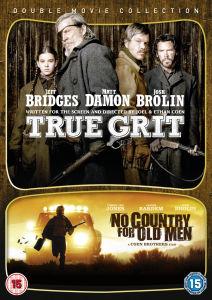 Coffret 2 Blu-rays : True Grit + No Country For Old Men ou  Shutter Island + Super 8