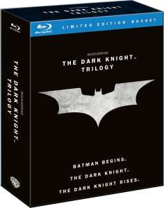 The Dark Knight Trilogy - 5 Blu-ray + 1 livret