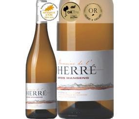 """6 bouteilles de vin blanc Domaine de l'Herré """"Gros Manseng"""" - 75cl, 2015"""