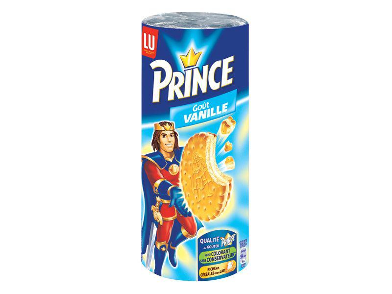 Lot de 2 paquets de Prince au choix