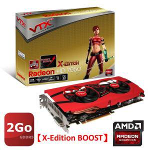 Carte graphique VTX3D AMD HD7950 3Go GHZ + 3 jeux