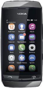 Smartphone Nokia Asha 306 7,6cm tactile, 2 Mpix