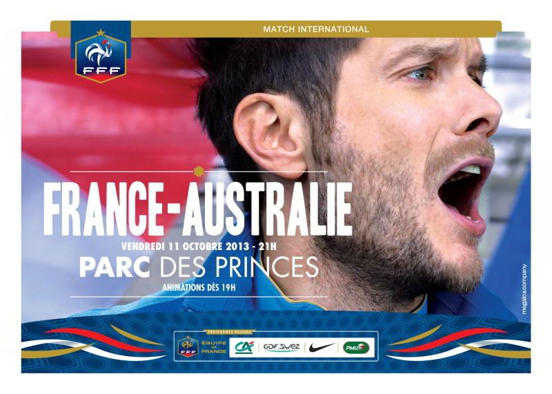 2 places pour France-Australie offertes dès 40€ d'achat