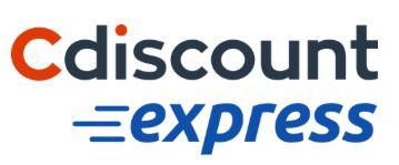 -10% de réduction dès 40€ d'achat sur Cdiscount Express
