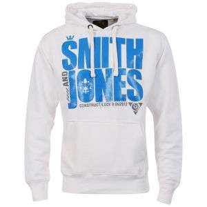 Sweat à capuche Smith & Jones - Blanc (S et XL)
