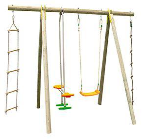 Balançoire bois Trigano 5 enfants - 2.30 m