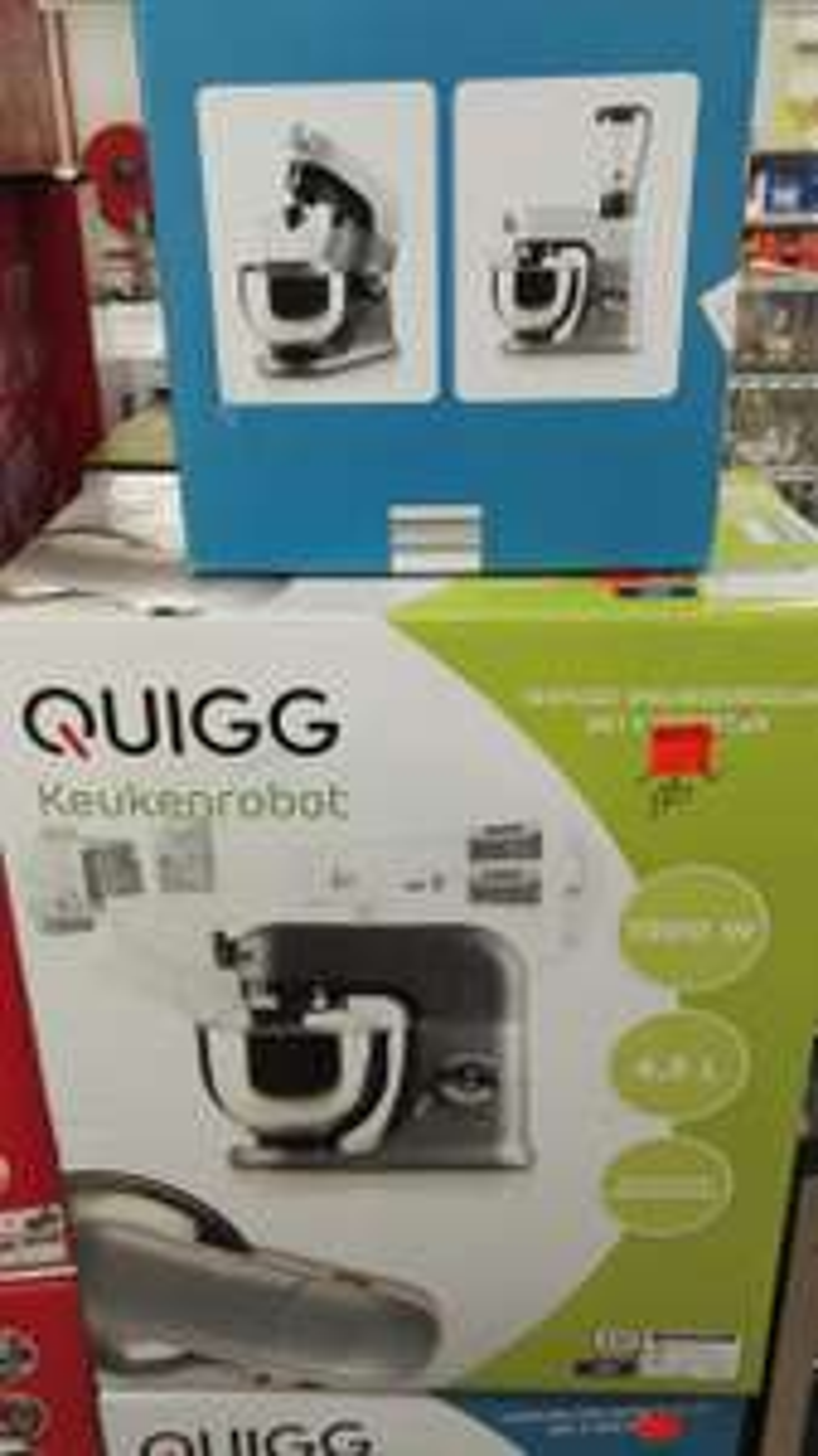 Robot pâtissier Quigg KR8 - 1000W, 4.5L