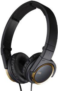 Casque audio JVC HA-S400 (noir & doré)