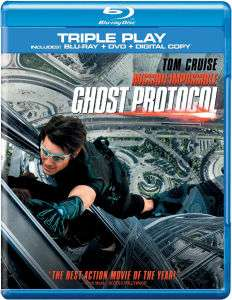 Mission Impossible 4 : Ghost Protocol (Blu-ray + DVD + Digital Copy)