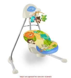 Balancelle Fisher Price Animaux du monde
