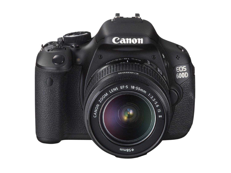 Reflex Canon EOS 600D 18 Mpix - Objectif EF-S 18-55 mm IS II Canon