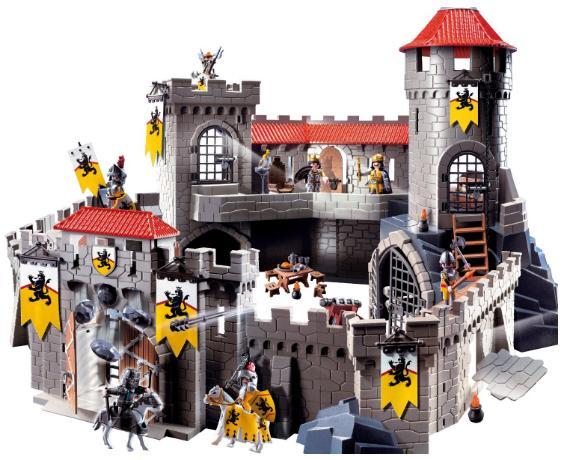 Jeu De Construction Playmobil 4865 Château Fort Des Chevaliers Du