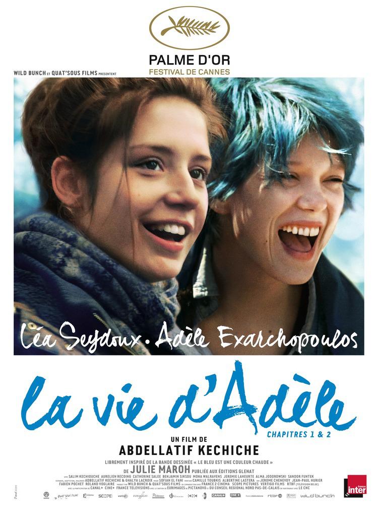 Adhérents LMDE : Place de cinéma gratuite pour La Vie d'Adèle, Chapitres 1 & 2