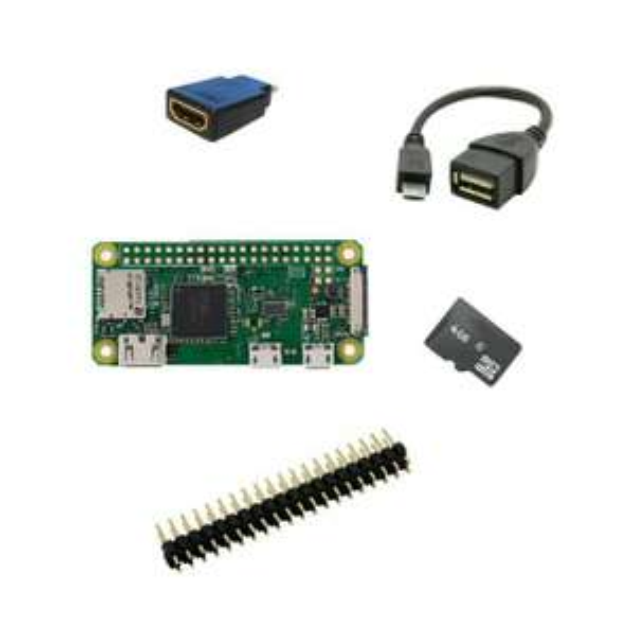 Raspberry Pi zero budget wifi et Bluetooth intégré + accessoires