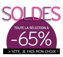 -65% sur une selection de produits