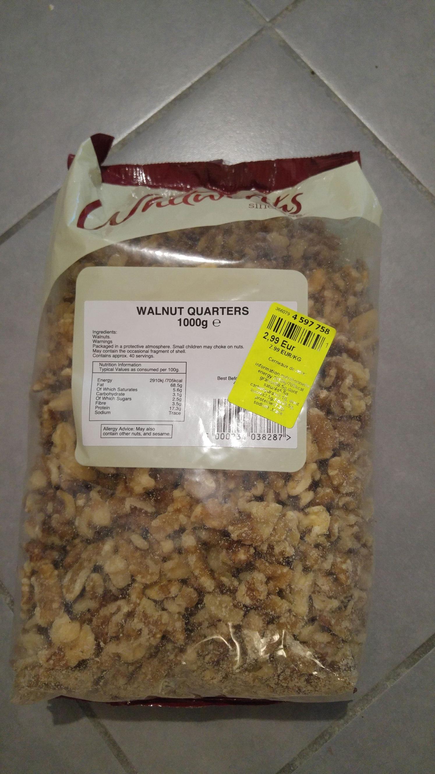 Sachet de cerneaux de noix - 1 kg