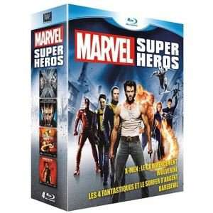Coffret Blu-ray Marvel Super héros - 4 films