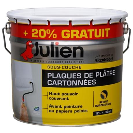 Sous couche pour plaques de platres Julien J6 (Avec ODR)