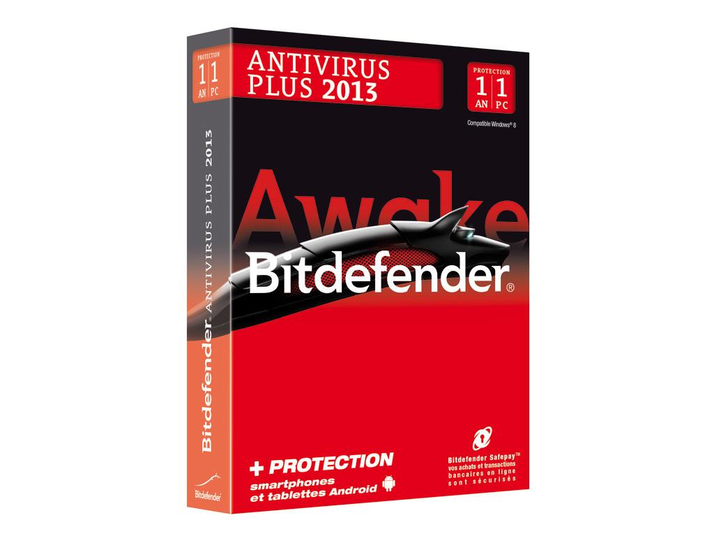 Licence Bitdefender Antivirus Plus 1AN 1PC