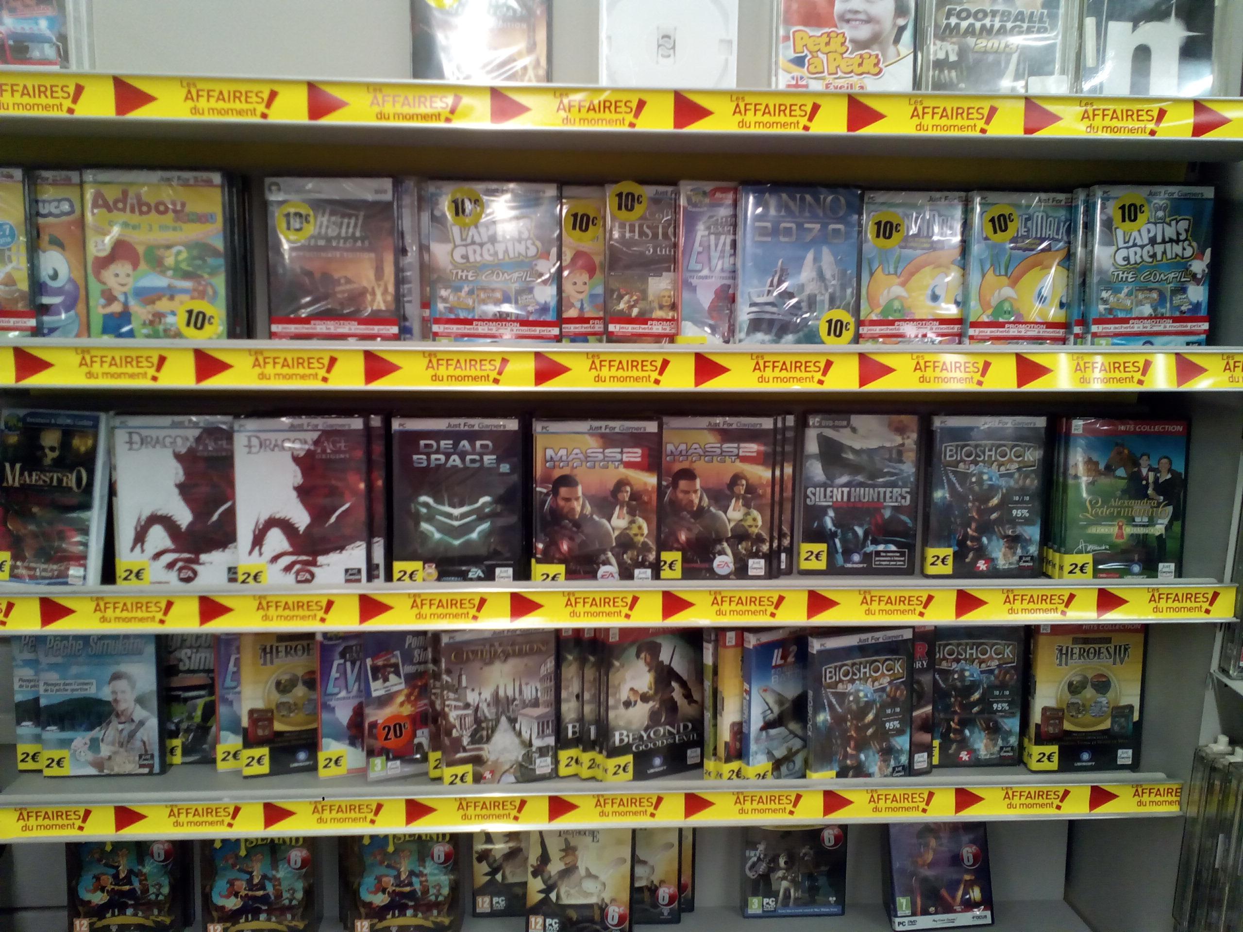 Sélection de jeux PC (national)