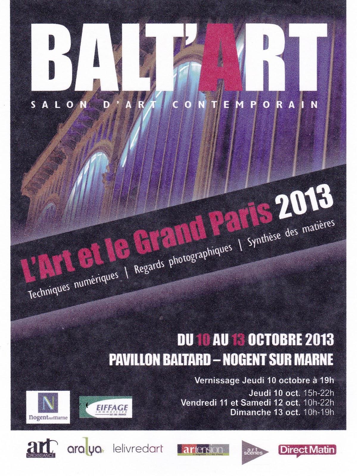 Invitation gratuite pour le Salon d'Art Contemporain BALT'ART