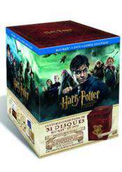 Harry Potter Le Coffret Ultime (18 Blu-Ray + 13 DVD + Objets collector) - Edition limitée et numérotée