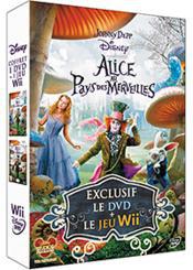 Coffret Alice Au Pays Des Merveilles (Film DVD + Jeu Wii)