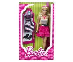 Barbie Mattel + 1 tenue de rechange
