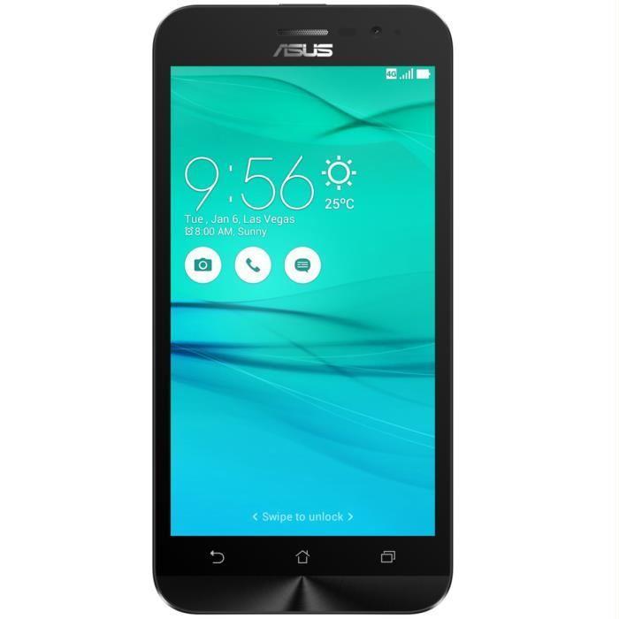 """Smartphone 5"""" Asus ZenFone 2 (G500KL) - double-SIM, SnapDragon 410, 2 Go de RAM, 16 Go, noir"""