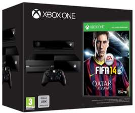 Précommande Pack : Xbox One + FIFA14