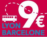 Trajet Lyon <> Barcelone