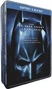 The Dark Knight - La trilogie [Blu-ray] boitier métal