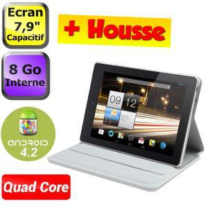 "Tablette 8"" IPS Acer iconia A1-810 quad-core 8Go + housse"