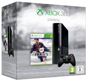 Console Xbox 360 250 Go (Edition 2013) avec FIFA 14 en dématérialisé