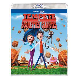 Blu-Ray 3D Tempête De Boulettes Géantes
