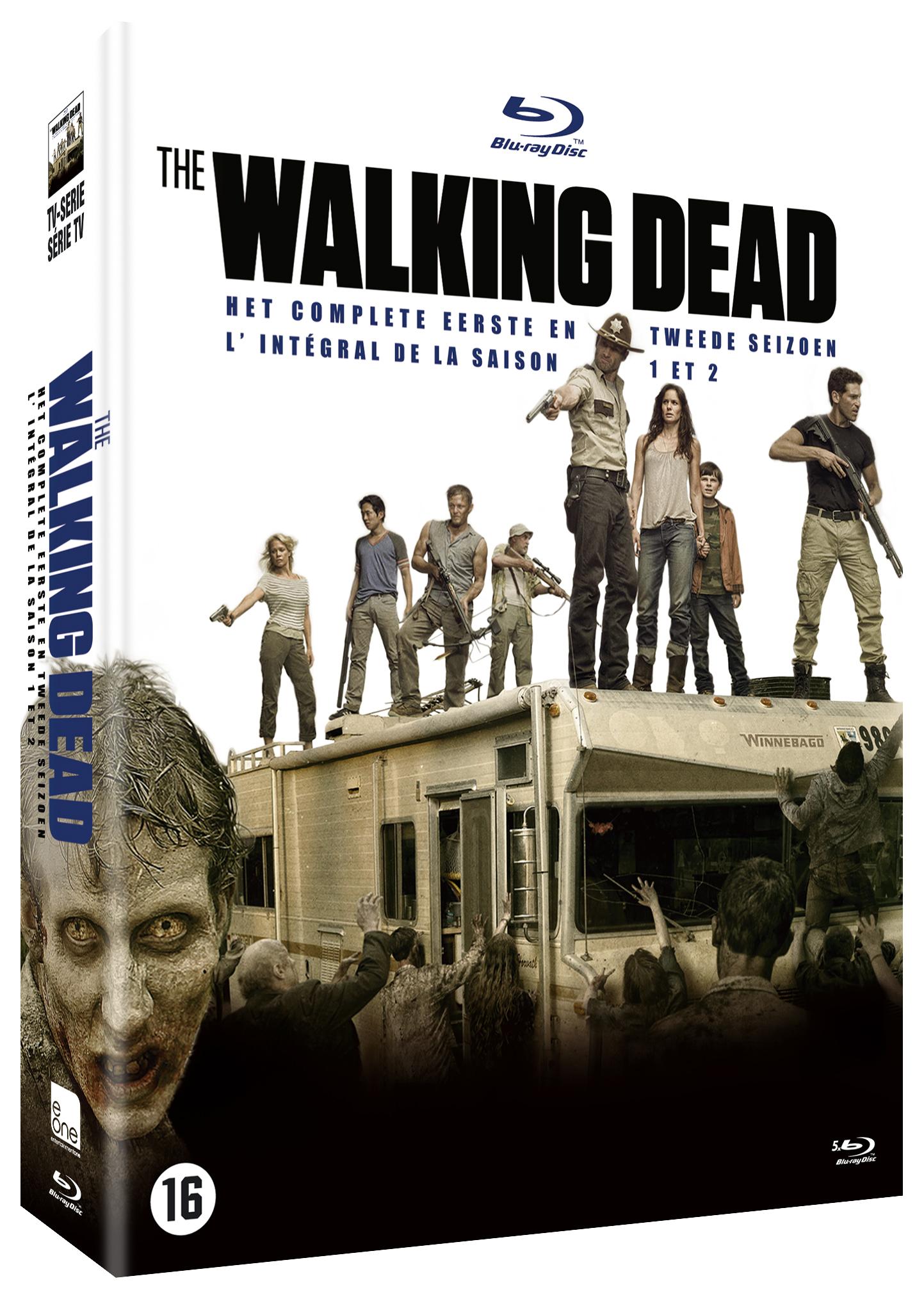 Coffret Blu-ray Walking Dead Saisons 1 et 2