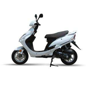 Scooter Eurocka GTR Blanc 50cm3 / Port inclus