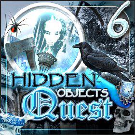 Jeu android : Hidden Objects Quest 6: Spooky Decay Gratuit (au lieu de 1.51€)