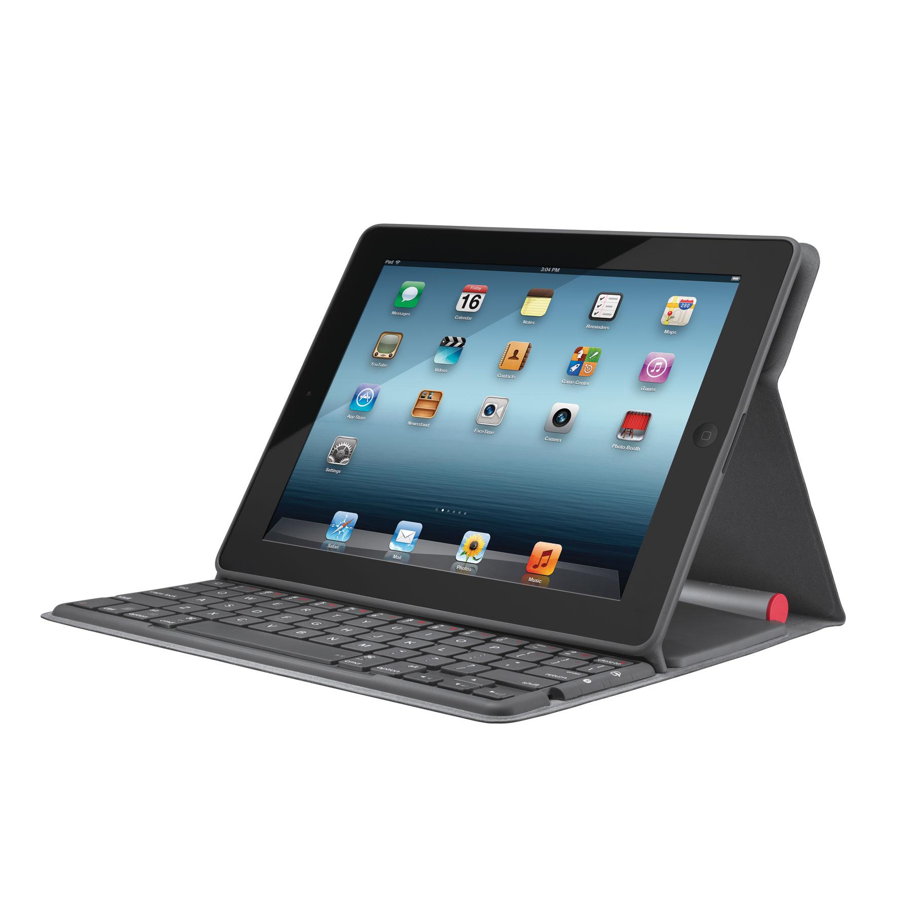 Clavier Logitech Solar Folio Sans Fil Alimenté par la lumière pour iPad