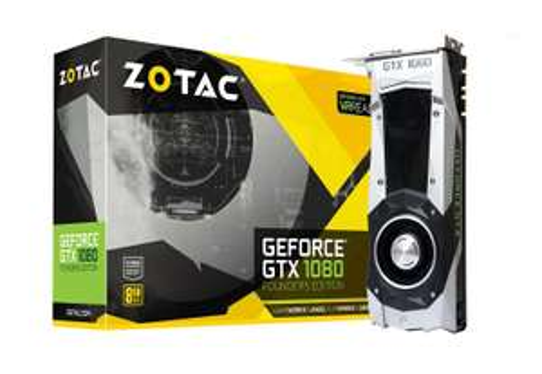 Sélection de cartes graphiques en promotion - Ex : Zotac GeForce GTX 1080 Founders Edition - 8 Go