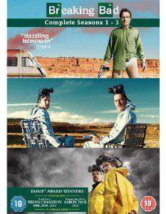 Coffret DVD Saisons 1 à 3 Breaking Bad [Import anglais]