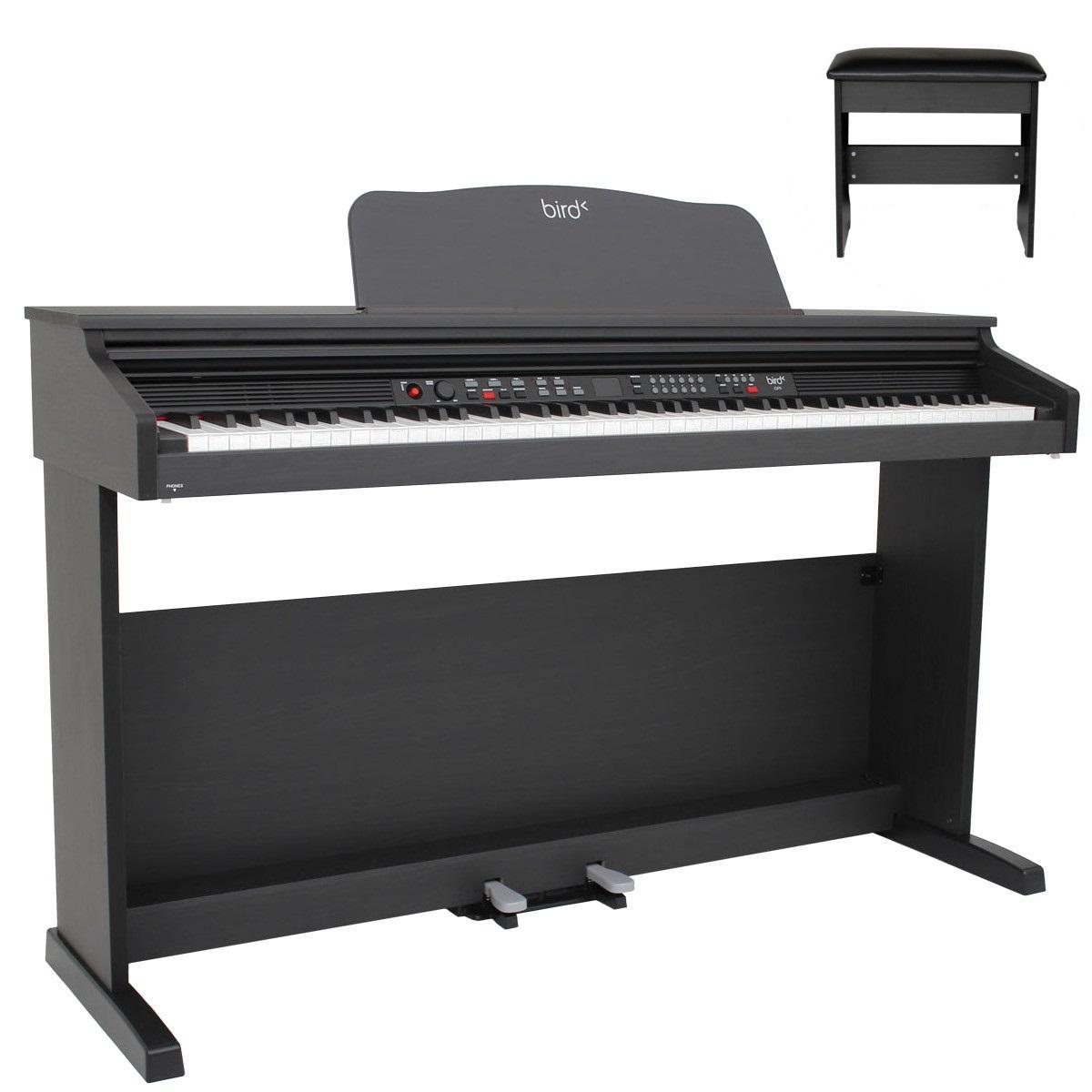 Piano numérique Bird DP1 avec banquette