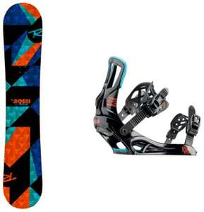 Pack Rossignol Snowboard District + Fix Snow Battle V2 - Tailles : ML ou XL