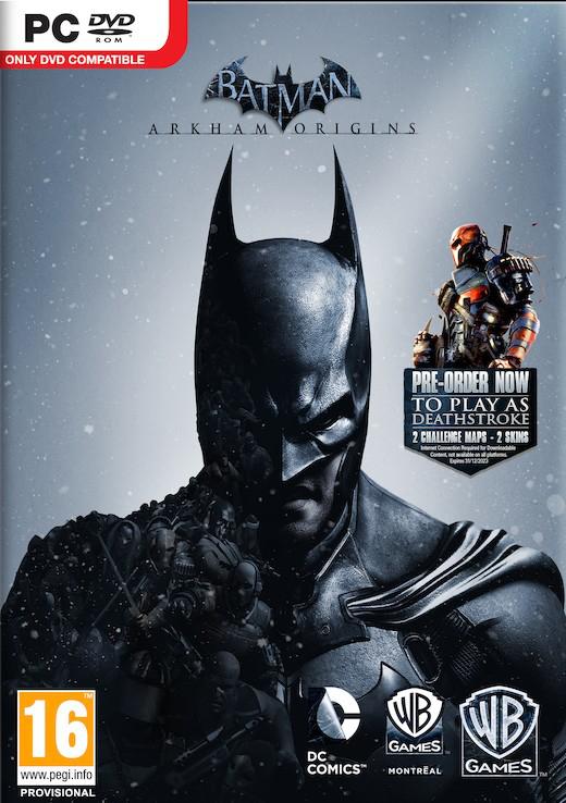 Batman Arkham Origins sur PC, Steam (Inclus les DLC Deathstroke & Batman Legends)
