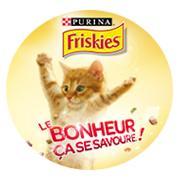 Paquet de croquettes pour chat Purina Friskies - 100% remboursé en bon d'achat à valoir sur la marque Friskies(via ODR)