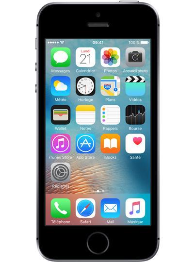 """Smartphone 4"""" Apple iPhone SE (Plusieurs coloris) + Forfait RED au choix (via ODR de 100€) - 64 Go à 359.99€ et 16 Go"""