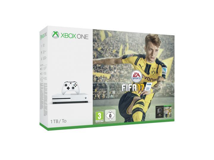 Console Microsoft Xbox One S 1 To + Fifa 17