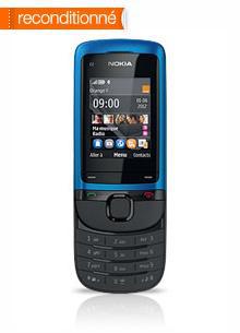 Téléphone Nokia C2 05 Bleu - reconditionné