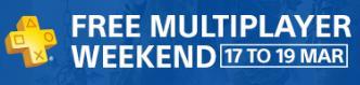 Jouez gratuitement en ligne sous votre compte habituel pendant tout le weekend sur PS4