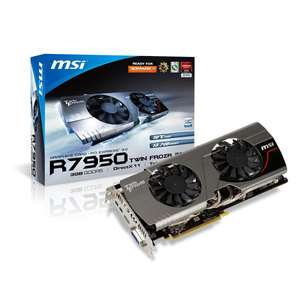 MSI R7950 Twin Frozr 3GD5/OC BE 3 Go + 3 jeux offert